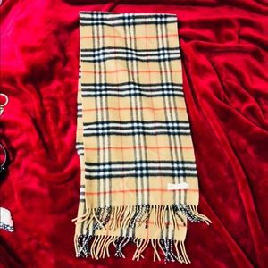 Authentic Burberry Pure Cashmere Muffler